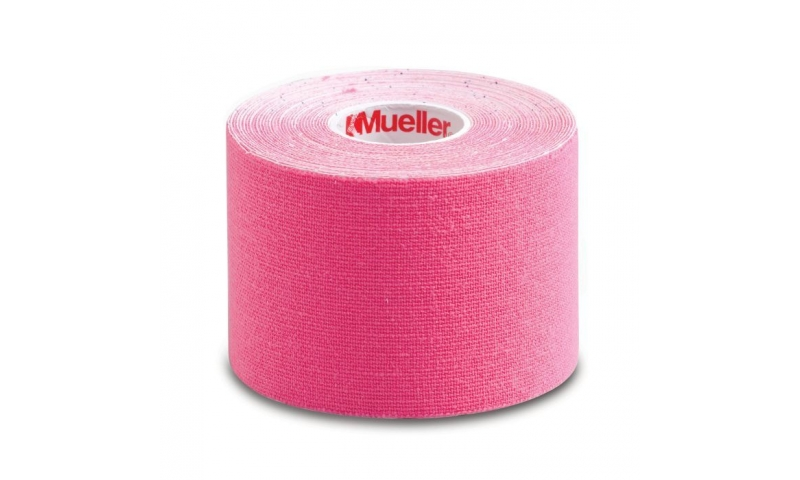 """Mueller Kinesiology Tape, Pink, 2"""" x 16.4 ft"""