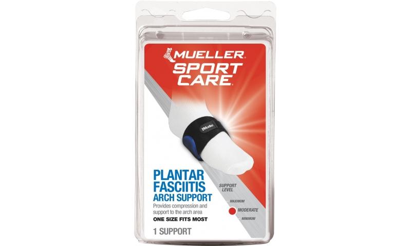 Mueller Arch Support Black OSFA