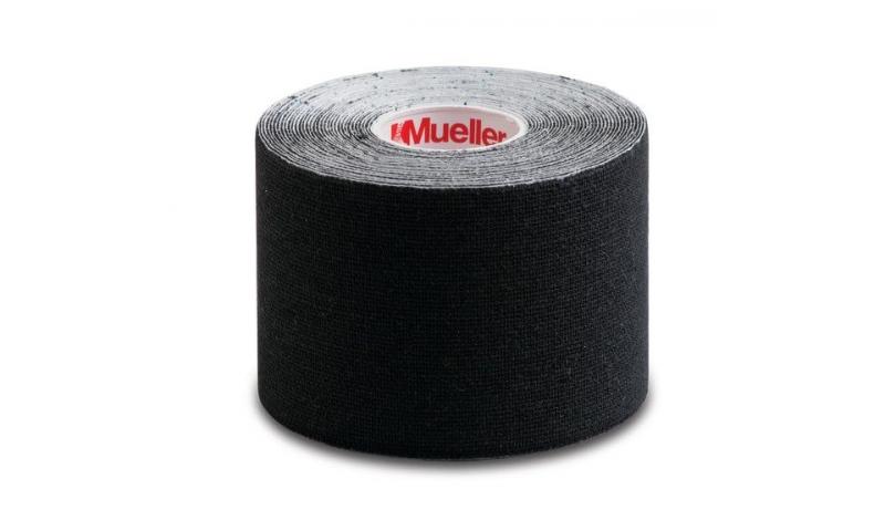 "Mueller Kinesiology Tape, Black, 2"" x 16.4 ft"